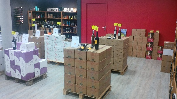 une selection de vins de proprietaires entre 5 et 9€ TTC