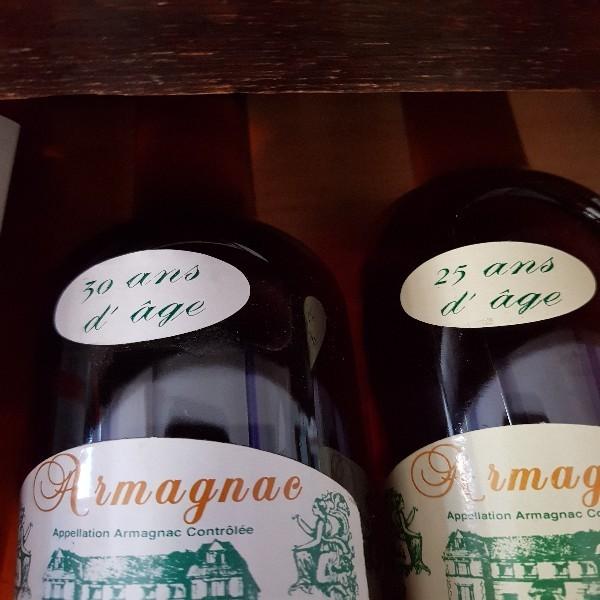 Armagnac de grands châteaux 25 et30 ans d âge bientôt armagnac du château Millet soyez les premiers à déguster ce nectar